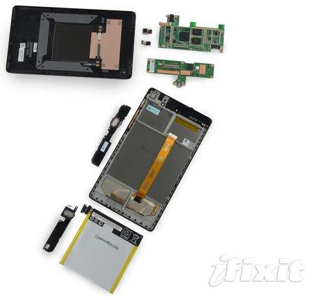 Zerlegt: Nexus 7 2013 ist laut iFixit leicht zu reparieren
