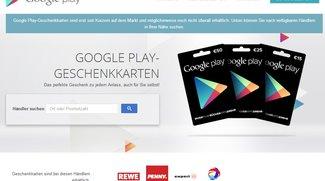 Google Play Geschenkkarten: Store Finder zeigt Händler in der Nähe