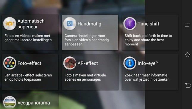 Sony Xperia i1 Honami Kamera-App auf das Xperia Z, ZL und Tablet Z portiert