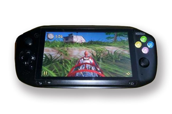 Magic Media i5: Handheld-Gaming-Konsole mit 5-Zoll-Display