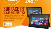 Deal: Microsoft Surface RT für nur 249€ im CyberSale