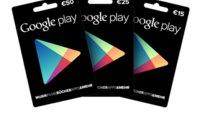 Geschenkkarten für Google Play ab dieser Woche bei Media Markt und Saturn