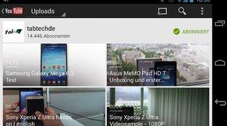 YouTube Android App bekommt bald Multitasking-Funktion