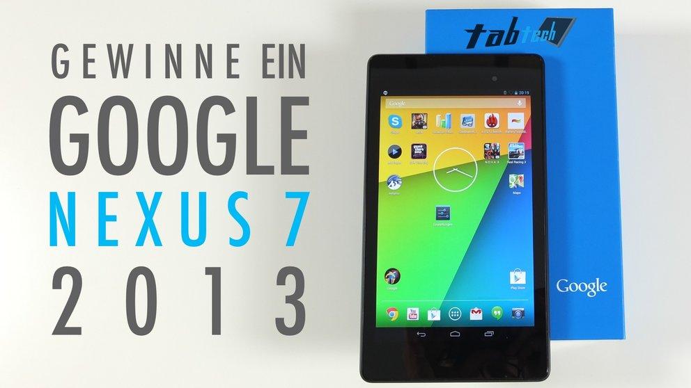 Gewinne ein neues Google Nexus 7 (2013) /Update: Gewinner wurde gezogen