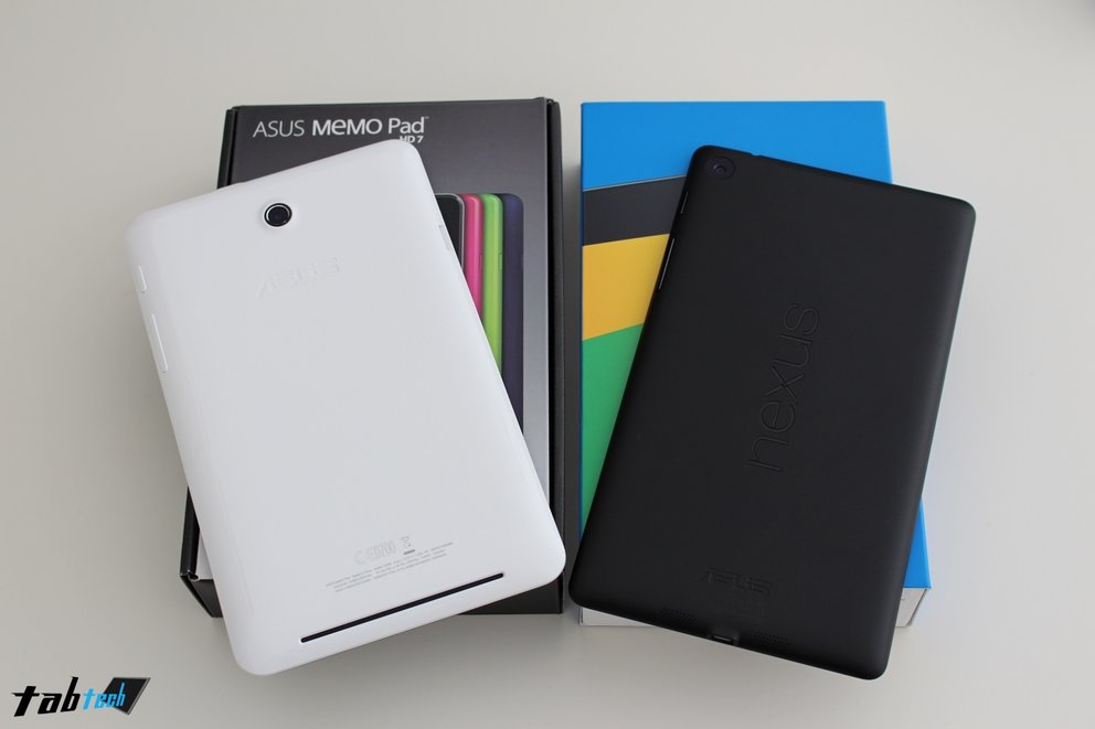 Vergleich: Nexus 7 (2013) vs. Asus MeMO Pad HD 7 + Outdoor Test