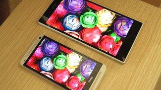 Display-Vergleich: Sony Xperia Z Ultra vs. HTC One