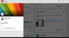Google+ 4.1 App Update für Android bringt endlich einfachen Wechsel zwischen Profilen und Seiten
