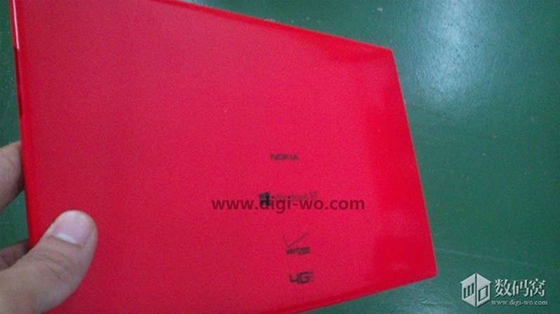 Nokia Tablet mit Snapdragon 800 und Windows RT 8.1 auf erstem Foto