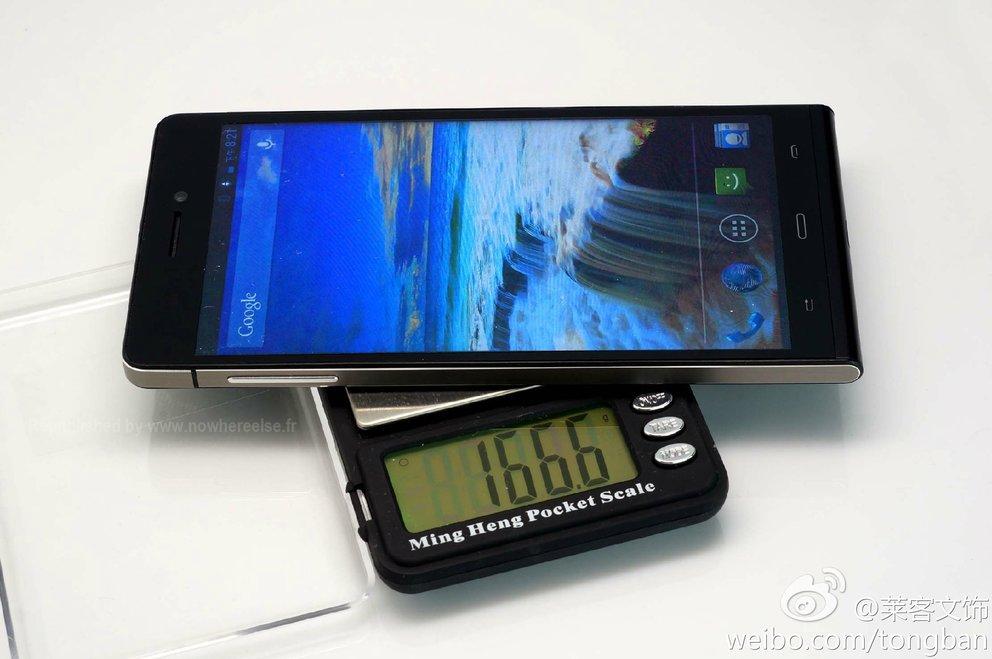 Huawei Ascend P6S mit 6 Zoll HD-Display auf ersten Fotos