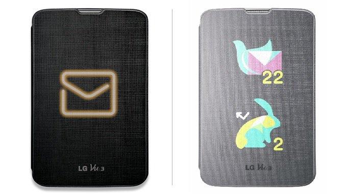 LG präsentiert durchscheinendes QuickView Case für das Vu3
