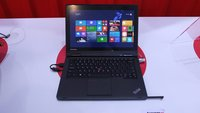Lenovo ThinkPad Yoga: 12,5 Zoll Convertible mit Digitizer und Anti-Glare Display (Hands-On)