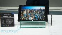 "Sharp Mebius Pad: Bay Trail & 10,1"" IGZO-Display mit 2560 x 1600 Pixeln"