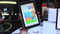 Toshiba Encore mit 8 Zoll, Bay Trail & Win 8.1 ab heute in Deutschland verfügbar