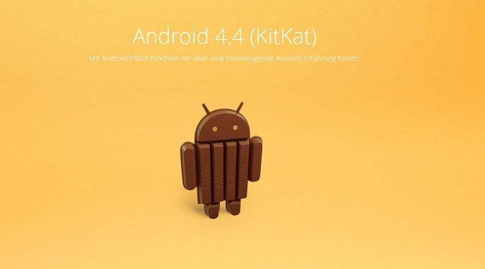 Neue Android 4.4 Bilder zeigen weitere Design-Änderungen