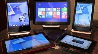 HP Slate 7 Extreme, 8 Pro, 7 HD, 10 HD und Omni 10 Tablets präsentiert
