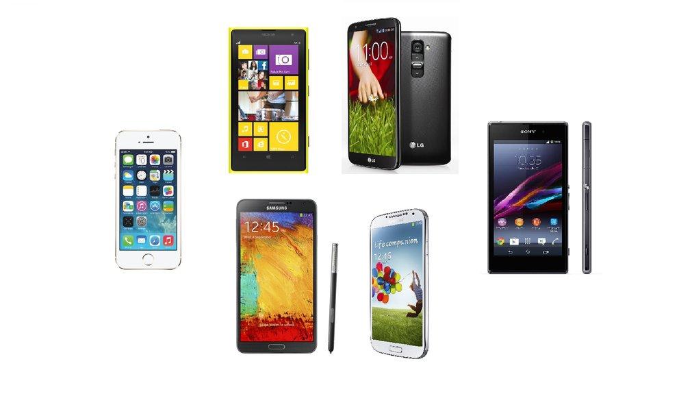 Vergleich: iPhone 5S gegen den Rest der Smartphone-Oberklasse