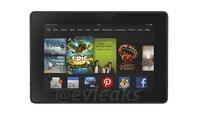 Neues Kindle Fire HD (2013) Tablet auf erstem Pressebild