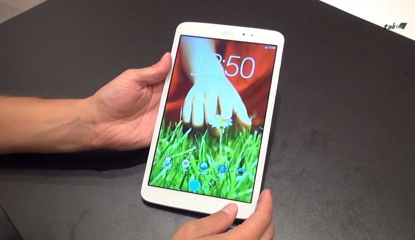 LG G Pad 8.3 mit LTE bei Amazon gelistet