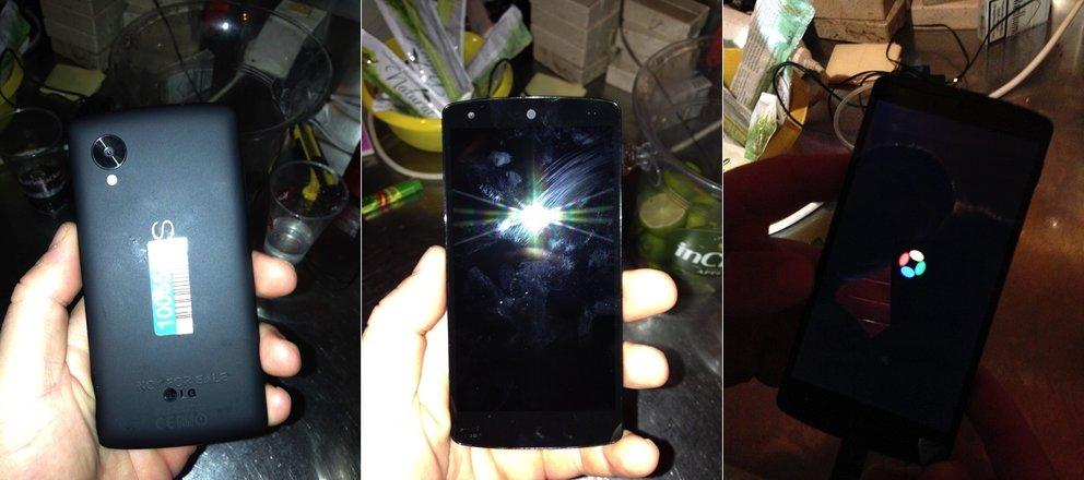 Nexus 5 in freier Wildbahn auf neuen Fotos und in zwei Videos