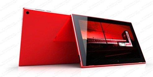 Nokia Lumia 2520 als Produktbezeichnung für das Sirius Tablet