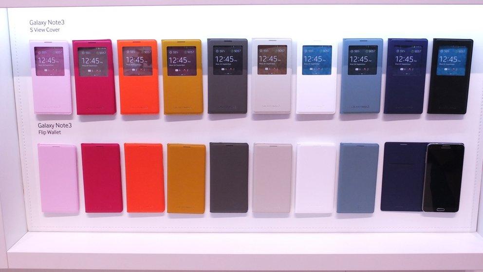 Samsung Galaxy Note 3 und Note 10.1 (2014 Edition) Zubehör
