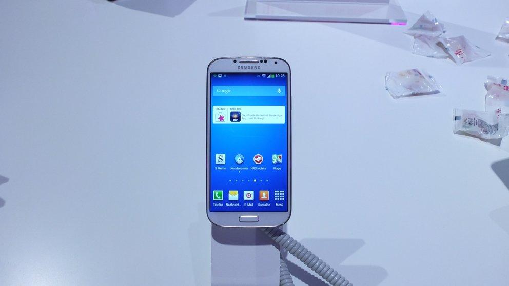 Samsung Galaxy S4 LTE-A mit Snapdragon 800 im Hands-On