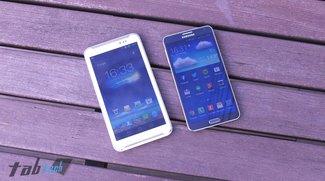 Asus Fonepad Note FHD 6 im Vergleich mit dem Galaxy Note 3