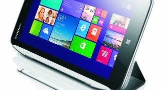 Lenovo Miix 2: 8 Zoll Tablet mit Intel BayTrail, Windows 8.1 inkl. Office für $299 vorgestellt
