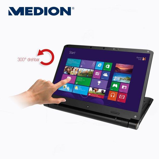 Medion Akoya S6212T (MD 99270) mit umklappbarem 15,6 Zoll Touch-Display am 24. Oktober bei Aldi