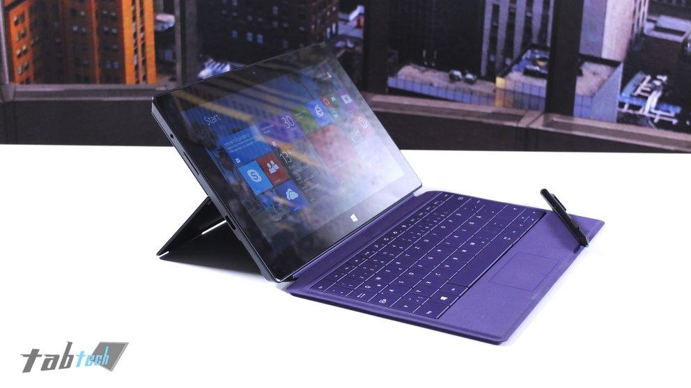 Microsoft Surface Pro 2 Kickstand 45 Grad
