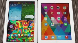 Samsung Galaxy Note 10.1 (2014 Edition) vs. Apple iPad 4 im Video