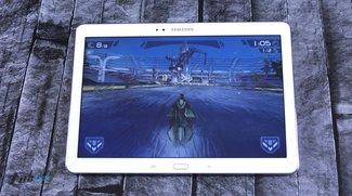 Samsung Galaxy Note 10.1 (2014 Edition) im Spiele und Gaming Test