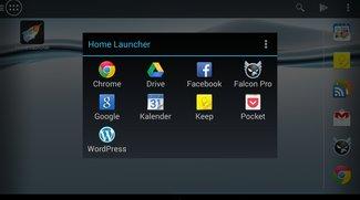 Home Button Launcher für Android: Wischgeste für Google Now frei konfigurieren