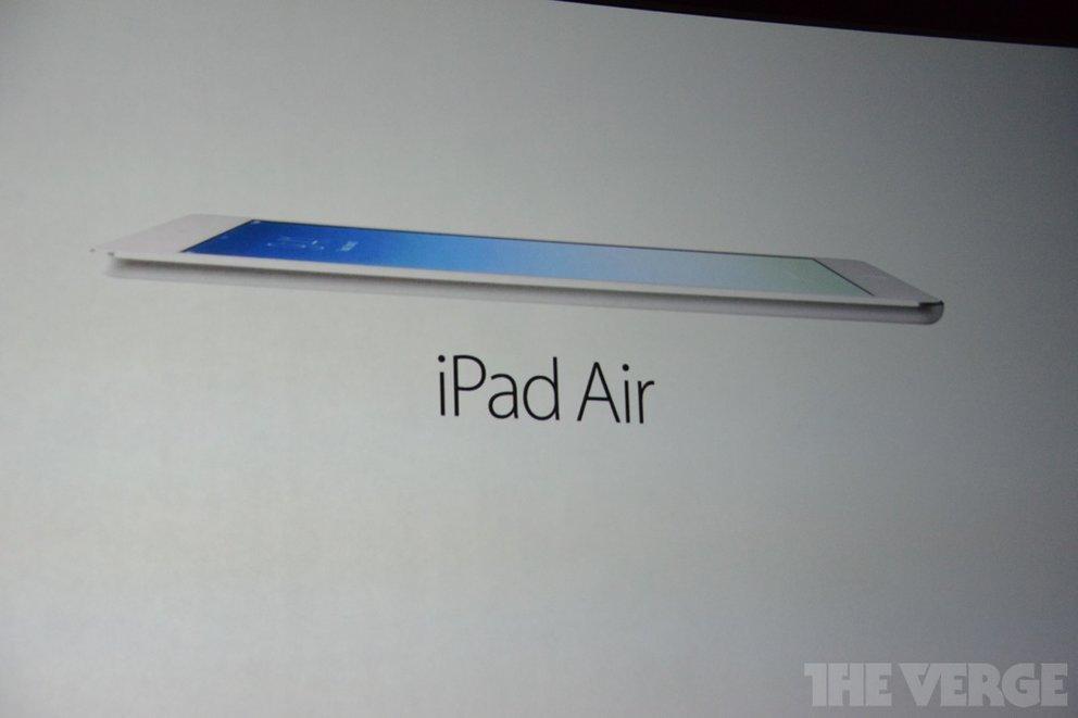 Apple iPad Air vorgestellt - Extrem leicht, dünn &amp&#x3B; mit neuem Design