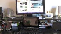 ASUS Transformer Book T100 als Desktop-PC ausprobiert