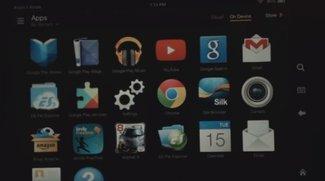 Einige Google Apps können auf dem Kindle Fire HDX installiert werden