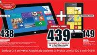 Italien: Surface 2 kaufen und Nokia Lumia 520 kostenlos erhalten?