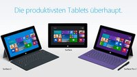Microsoft Surface Pro 2 & Surface 2 ab sofort im Handel verfügbar