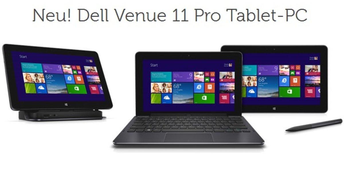 Dell Venue 11 Pro Mit Intel Core I3 4020Y 4 GB RAM Amp 128