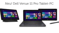 Dell Venue 11 Pro mit Intel Core i3-4020Y, 4 GB RAM & 128 GB SSD kostet 639€