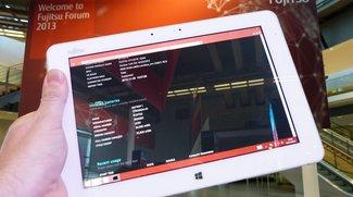 Fujitsu Stylistic Q584: 10,1 Zoll Tablet mit 2560 x 1600 Pixeln, Bay Trail &amp&#x3B; Stylus
