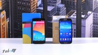 Nexus 5 vs. Samsung Galaxy S4 im Vergleich