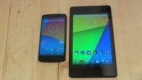 Android 4.4 auf dem Nexus 7 (2013) und Nexus 5 im Vergleich