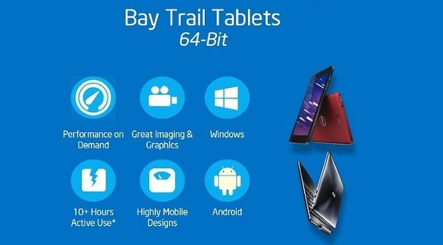 Intel Bay Trail 64-Bit Windows 8.1 Tablets zum MWC 2014 erwartet