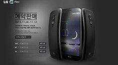 LG G Flex ab dem 12. November in Korea & ab Dezember in Europa erhältlich