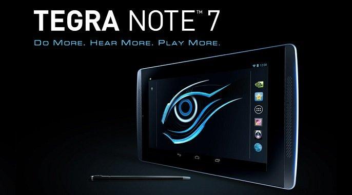 Gigabyte Tegra Note 7 offiziell präsentiert