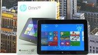 HP Omni 10 im Unboxing und Hands-On Video