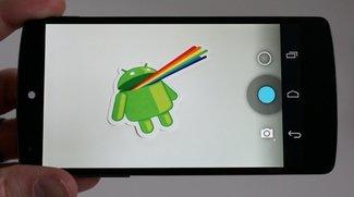 Android 4.4.1 Update wird verteilt - Nexus 5 Kamera-Vergleich mit Android 4.4