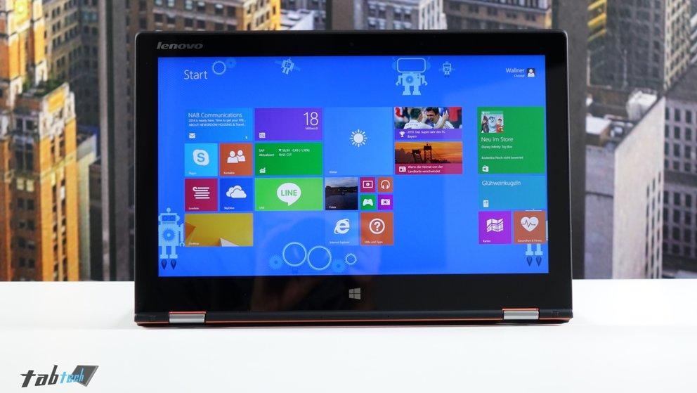 QHD+ Display des Yoga 2 Pro
