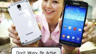Samsung Galaxy S4 Active mit Snapdragon 800 &amp&#x3B; LTE-A vorgestellt